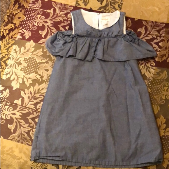Cat & Jack Other - Super cute cat & jack denim dress size xs 4/5